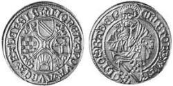 1 Goldgulden Margraviate of Baden (1112 - 1803) Gold