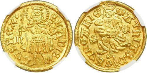 1 Goldgulden Royaume de Hongrie (1000-1918) Or Matthias Corvinus of Hungary  (1443 -1490)