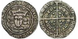 1 Groat Königreich England (927-1649,1660-1707) Silber Heinrich VI (1421-1471)