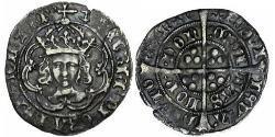 1 Groat Königreich England (927-1649,1660-1707) Silber Heinrich VII (1457 - 1509)