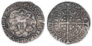 1 Groat Kingdom of England (927-1649,1660-1707) Silver Edward IV (1442-1483)