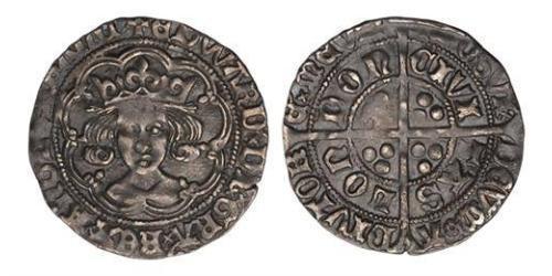 1 Groat Kingdom of England (927-1649,1660-1707) Silver Edward IV (1442-1483)