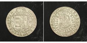 1 Groschen 外西凡尼亞公國 (鄂圖曼帝國) (1570 - 1711) 銀 Gabriel Bethlen, prince of Transylvania (1580-1629)