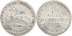 1 Groschen Hannover Argento