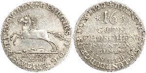 1 Groschen Hannover Plata
