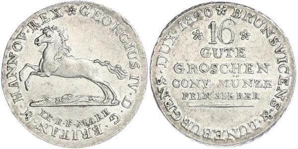 1 Groschen Hanover Silver