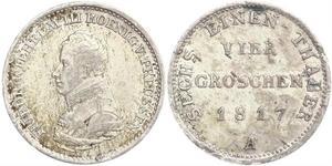 1 Groschen Kingdom of Prussia (1701-1918) Silver Frederick William III of Prussia (1770 -1840)