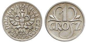 1 Grosh 波兰第二共和国 (1918 - 1939) 銅