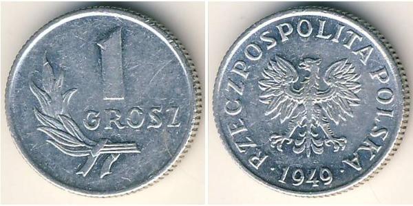 1 Grosh Poland Aluminium