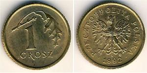 1 Grosh Third Polish Republic (1991 - ) Bronze