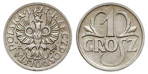 1 Grosh Segunda República Polaca (1918 - 1939) Cobre