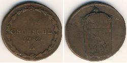1 Grosh Bohemia Copper