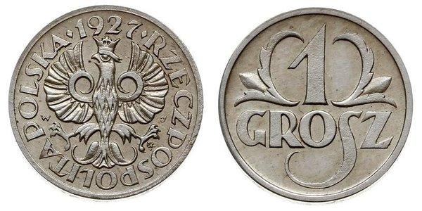 1 Grosh Second Polish Republic (1918 - 1939) Copper