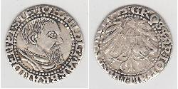 1 Grosh Margraviate of Brandenburg (1157–1806) / States of Germany / Deutschland Silber