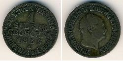 1 Grosh Kingdom of Prussia (1701-1918) Silver