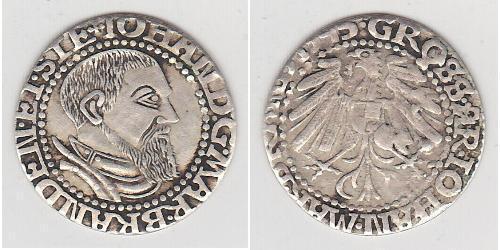 1 Grosh Germany / Margraviate of Brandenburg (1157–1806) / States of Germany Silver