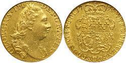 1 Guinea 大不列顛王國 (1707 - 1800) 金 喬治三世 (1738-1820)