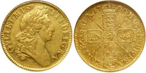 1 Guinea 英格兰王国 金 威廉三世 (奥兰治)