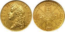 1 Guinea Königreich England (927-1649,1660-1707) Gold Jakob II (1633-1701)