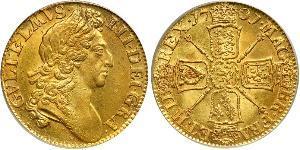 1 Guinea Königreich England (927-1649,1660-1707) Gold Wilhelm III (1650-1702)