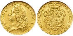 1 Guinea Königreich Großbritannien (1707-1801) Gold Georg II (1683-1760)