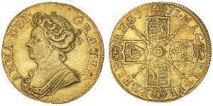 1 Guinea Königreich Großbritannien (1707-1801) Gold Anne (Großbritannien)(1665-1714)
