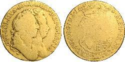 1 Guinea Kingdom of England (927-1649,1660-1707) Gold William III (1650-1702)