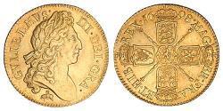1 Guinea Kingdom of England (927-1649,1660-1707) Gold William III (1650-1702)