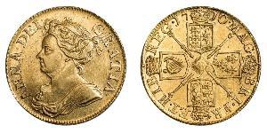 1 Guinea Kingdom of England (927-1649,1660-1707) Gold Anne, Queen of Great Britain (1665-1714)