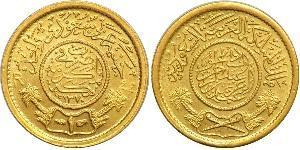 1 Guinea Saudi-Arabien Gold