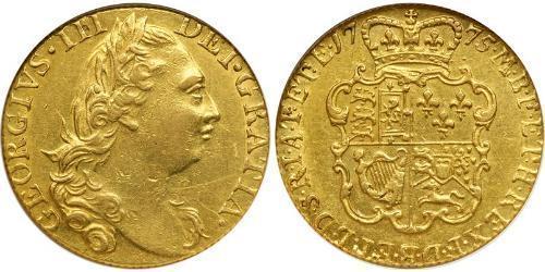 1 Guinea Regno Unito di Gran Bretagna (1707-1801) Oro Giorgio III (1738-1820)