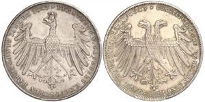 1 Gulden 法蘭克福自由市 銀
