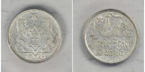 1 Gulden Gdansk (1920-1939) Argento
