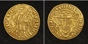 1 Gulden Germany Gold