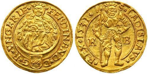 1 Gulden Habsburg Empire (1526-1804) Gold Ferdinand I, Holy Roman Emperor(1503-1564)