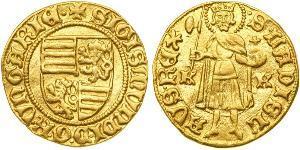 1 Gulden Königreich Ungarn (1000-1918) Gold Sigismund, Holy Roman Emperor (1368 -1437)