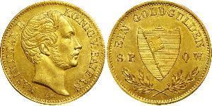 1 Gulden Kingdom of Bavaria (1806 - 1918) Gold Ludwig I of Bavaria (1786 – 1868)