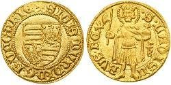 1 Gulden Kingdom of Hungary (1000-1918) Gold Sigismund, Holy Roman Emperor (1368 -1437)
