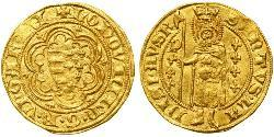 1 Gulden Kingdom of Hungary (1000-1918) Gold Louis I of Hungary (1326-1382)