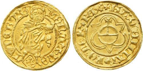 1 Gulden States of Germany Gold Maximilian I, Holy Roman Emperor (1459 - 1519)