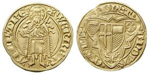 1 Gulden Alemania Oro