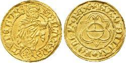 1 Gulden Stati federali della Germania Oro Massimiliano I d