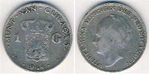 1 Gulden  Silver