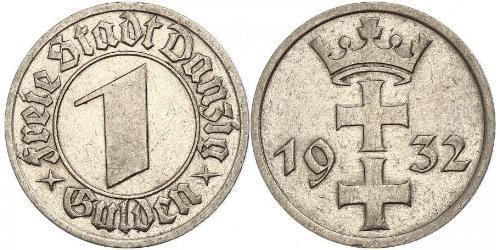 1 Gulden 但澤自由市 (1920 - 1939)
