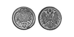 1 Heller Austria-Hungary (1867-1918) Bronze