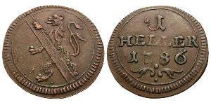 1 Heller Alemania Cobre