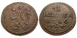 1 Heller Deutschland Kupfer