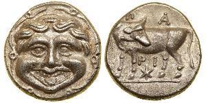 1 Hemidrachm Стародавня Греція (1100BC-330) Срібло