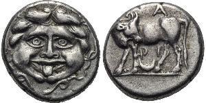1 Hemidrachm Grecia antica (1100BC-330) Argento