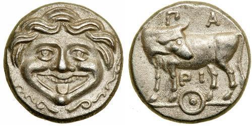 1 Hemidrachm Antigua Grecia (1100BC-330) Plata
